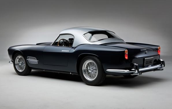 Picture retro, beauty, supercar, sports car, convertible, Spyder, Ferrari 250 GT, sports car, LWB California