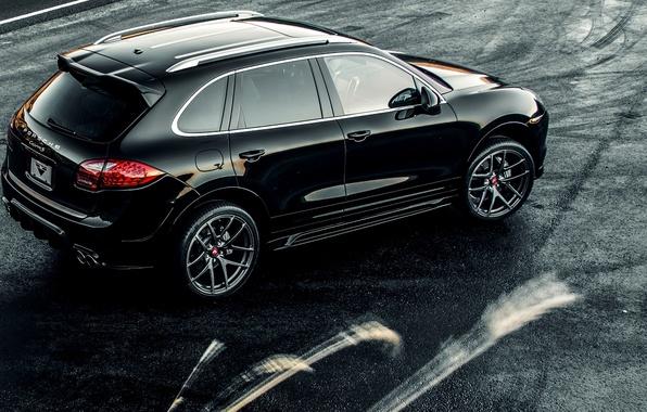 Wallpaper Porsche, Porsche, Turbo, Cayenne, Cayenne, turbo, 2015