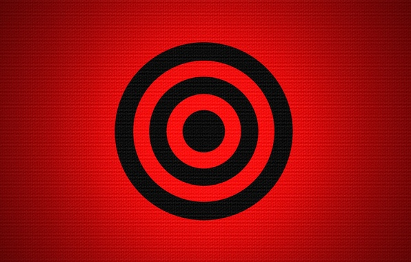 Picture color, round, ring, fabric, target