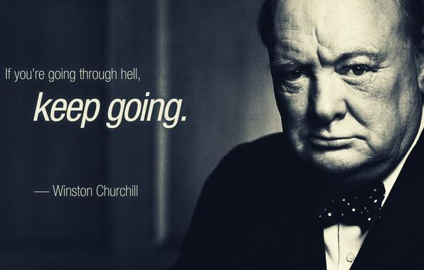 Picture Quote, Winston Leonard Spencer-Churchill, Winston Churchill