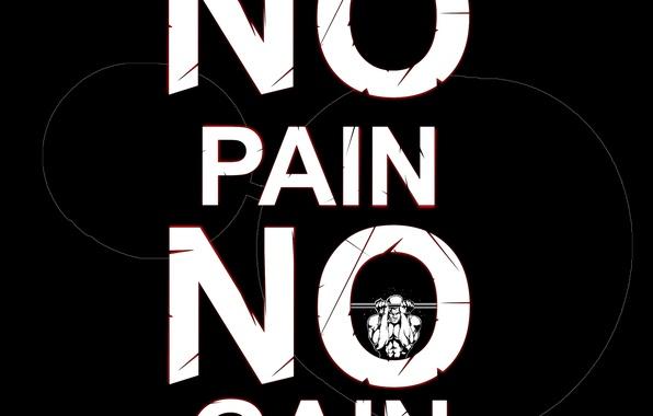 Photo wallpaper pain, workout, gym, gain