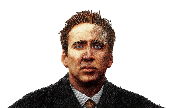 Picture white, Nicolas Cage, Bullets, Lord of war, Lord of War
