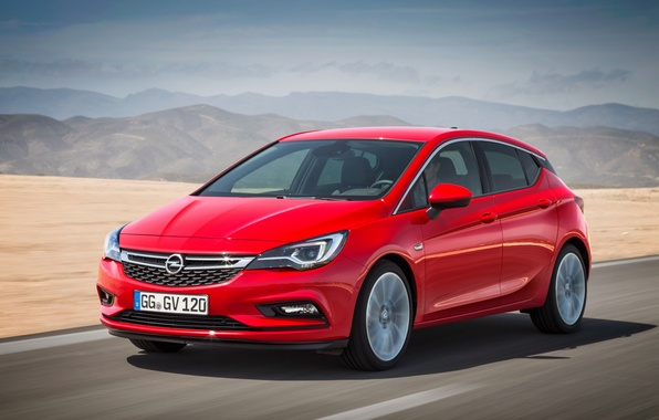 Photo wallpaper Astra, Astra, Opel, 2015, Opel