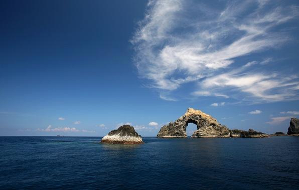 Picture rocks, The sky, Sea