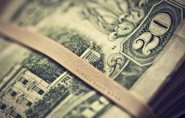 Picture macro, the inscription, money, blur, figure, dollars, bills, dollars