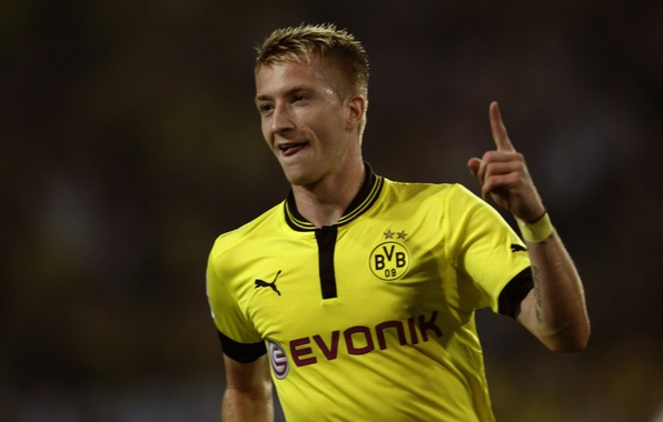 Photo wallpaper Dortmund, Marco Reus, Borussia