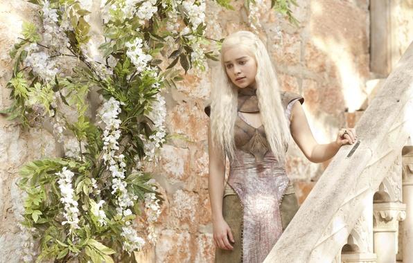Picture girl, Game Of Thrones, Game of Thrones, Emilia Clarke, Daenerys Targaryen, Emilia Clarke