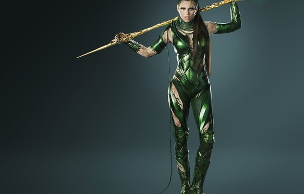Picture cinema, girl, armor, long hair, weapon, brown hair, movie, evil, film, Power Rangers, Rita Repulsa, …