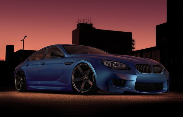 Picture car, tuning, BMW, rechange, virtual tuning, BMW M6 Gran Coupe