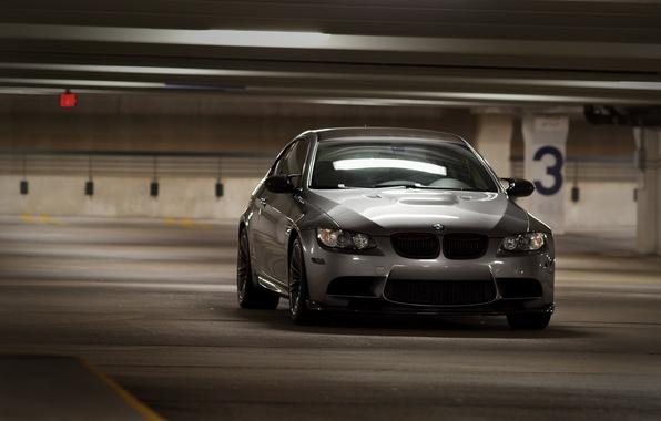 Photo Wallpaper HD BMW Parking Bmw M3 E92 Cars