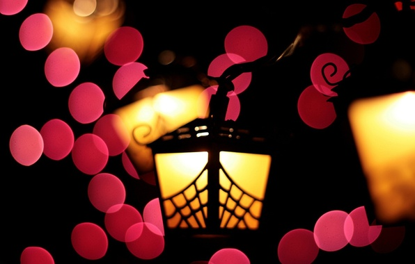 Picture style, lamp, minimalism, lantern, different