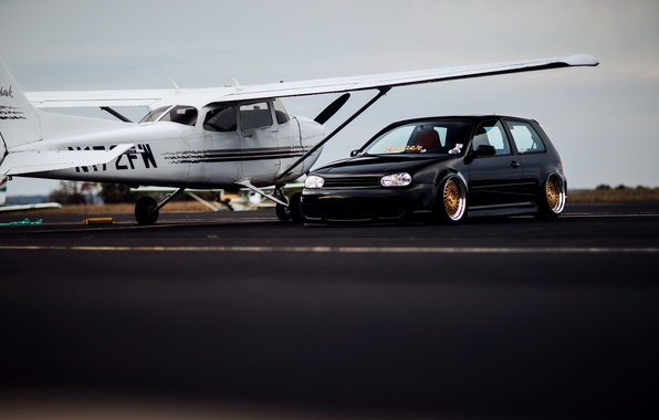 Picture Volkswagen, R32, tuning, Golf, low