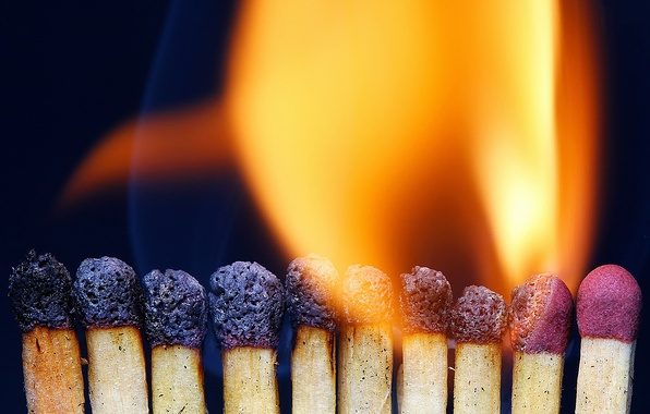 Picture macro, fire, matches