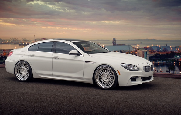 Picture BMW, BMW, white, tuning, Gran Coupe, 650i