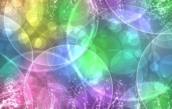 Picture texture, Circles, color