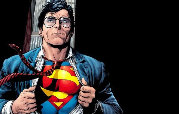 Picture fantasy, art, men, comics, Superman, superhero, costume, fantasy art, DC Comics, Clark Kent, artworks