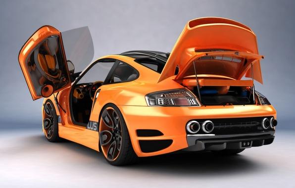 Photo wallpaper 911, Porsche, Porsche