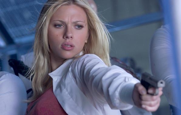 Picture Scarlett Johansson, wallpaper, girl, star, The Island