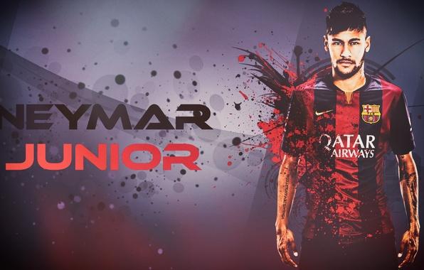 Picture football, wallpaper, Barcelona, barcelona, neymar, neymar, junior, gfx, hshamsi, hshamsi.deviantart.com