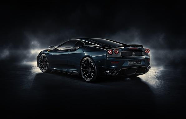 Picture F430, Ferrari, rear, by DuronDesign, Midnight Black