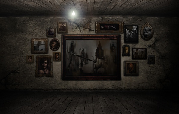 Picture room, pictures, silent hill