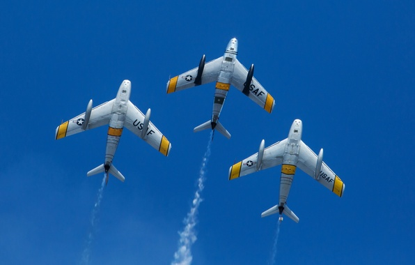 Picture aircraft, Sabre, F-86