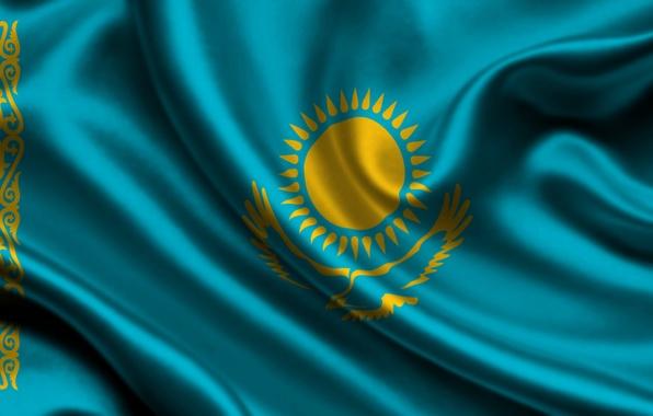 Picture flag, Kazakhstan, kazakhstan