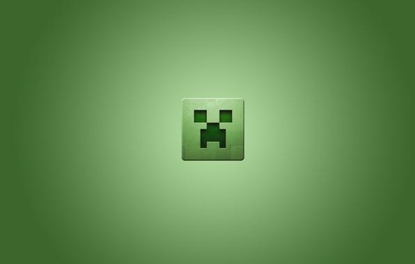 Picture square, minecraft, minecraft, creeper