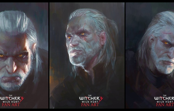 Picture The Wild Hunt, Art, The Witcher, CD Projekt RED, The Witcher 3: Wild Hunt