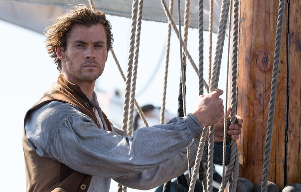 Picture rope, ropes, cables, Chris Hemsworth, Chris Hemsworth, In the Heart of the Sea, In the ...