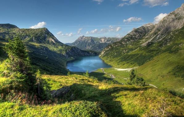 Picture mountains, lake, Austria, Austria, Republic Of Austria, Republika Avstrija, Tappenkarsee, The Republic Of Austria, Republika …