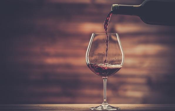 Picture wood, wine, wine glass