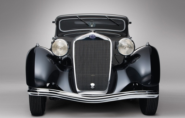 Picture chrome, old, Delage