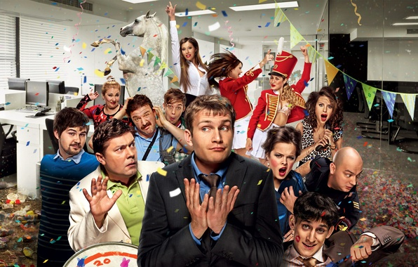 Picture office, party, fun, Comedy, Corporate, Nikolay Naumov