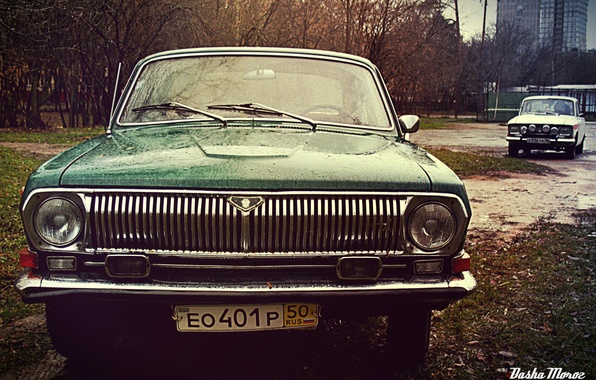 Picture retro, background, Wallpaper, USSR, classic, cars, classic, Volga, 412, Volga, Muscovite, AZLK, Gas 24