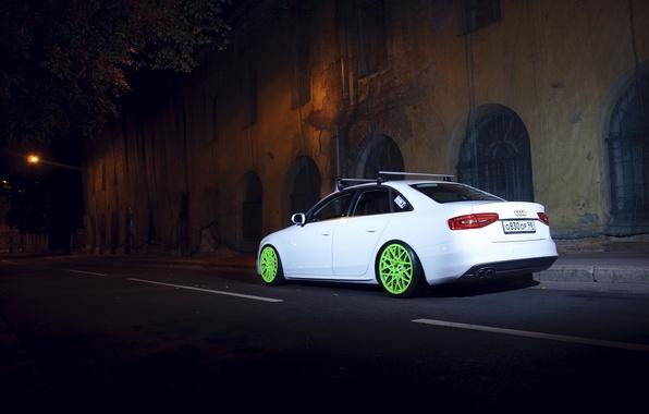 Picture Audi, the evening, Stance, spb, S-line, Audi. SPb