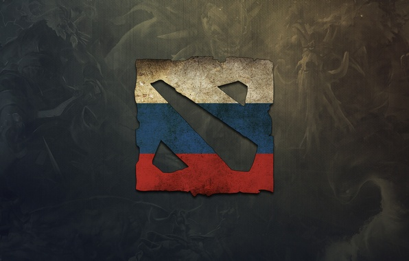 Picture the game, logo, logo, Russia, game, DotA 2, russia, dota 2