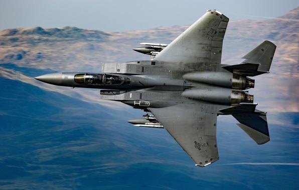 Picture fighter, Eagle, F-15, McDonnell Douglas