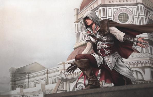 Picture Florence, assassin, Ezio, assassins creed 2