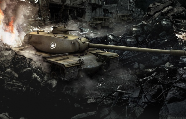Picture tank, USA, USA, tanks, WoT, World of tanks, tank, World of Tanks, tanks, T110E5, Wargaming.Net, …