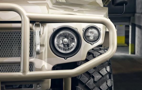 Picture macro, lights, headlight, Tiger, blur, SUV, tiger, gaz, bokeh, Russian, multipurpose, armored car, vip, version, …