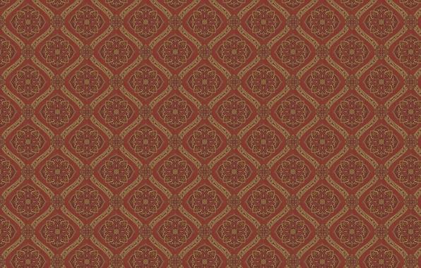 Picture flowers, background, Wallpaper, pattern, figure, color, squares, texture, ornament, diamonds