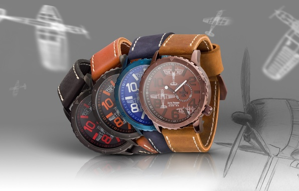 Picture style, watch, brand, hi-tech, exclusive, brand, Watch, Eagle Force, logo., Jack Pierre