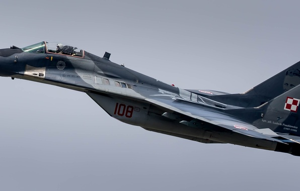 Picture the sky, fighter, the plane, The MiG-29