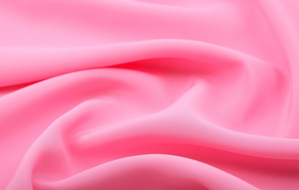 Picture pink, texture, fabric, folds, light
