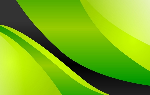 Picture green, background, black