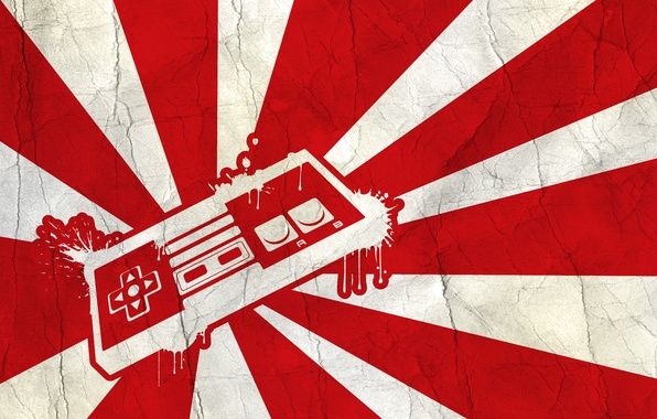 Picture Japan, flag, console, joystick