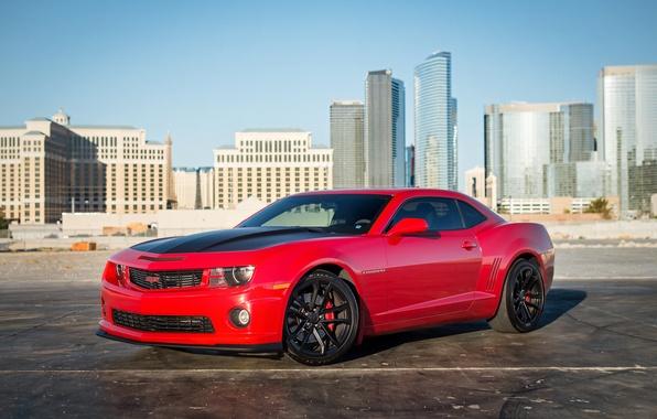 Picture the city, Chevrolet, Camaro