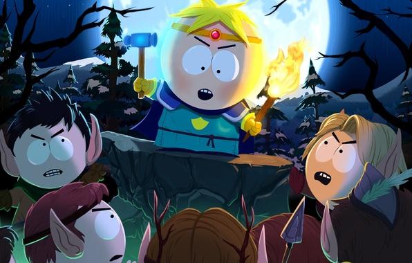 Wallpaper Elves, Hammer, Torch, South Park The Stick Of