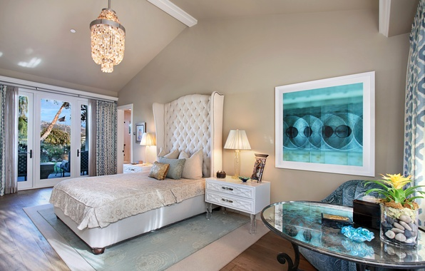 Picture design, photo, lamp, bed, interior, pillow, bedroom